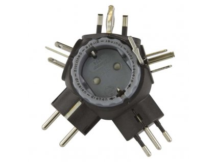 EMOS Cestovní adaptor SCHUKO P0057