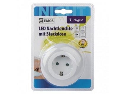 EMOS Lighting LED noční světlo P3308 do zásuvky SCHUKO P3308