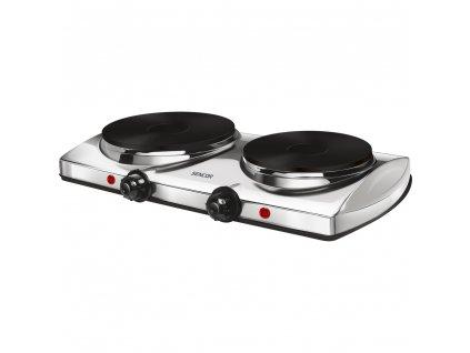 SCP 2251WH vařič dvouplotýnkový SENCOR