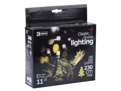 EMOS Lighting 240 LED řetěz, 24m, IP44, denní bílá- VÝPRODEJ ZY0805
