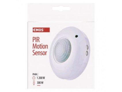 EMOS PIR senzor (pohybové čidlo) IP20 1200W, bílý G1130