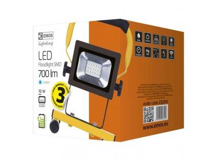 EMOS Lighting LED reflektor AKU SMD, 10W SP2 ZS2810