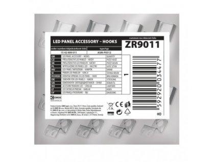 EMOS Lighting 6 háčků pro LED panel 120×30cm ZR9011