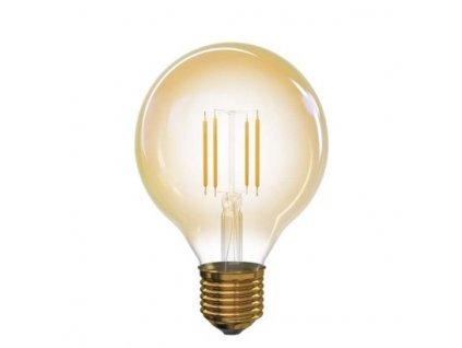 EMOS Lighting LED žárovka Vintage G95 4W E27 teplá bílá+ Z74304