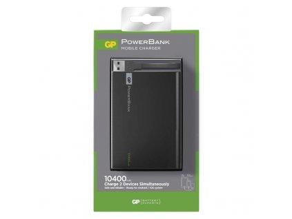 GP Batteries Power bank GP 1C10A 10400mAh černý B0303B