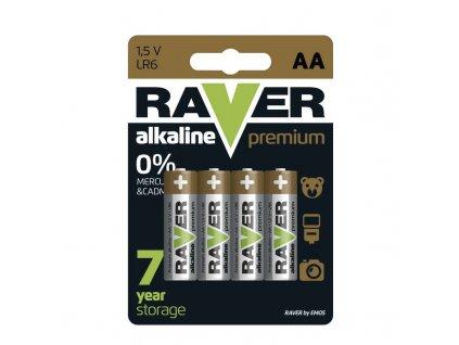 RAVER BAT. ALK. PREM LR6 4BL