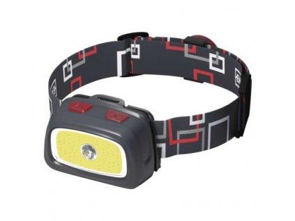 EMOS CREE LED + COB LED čelovka P3531, 330 lm, 65m, 3× AAA P3531