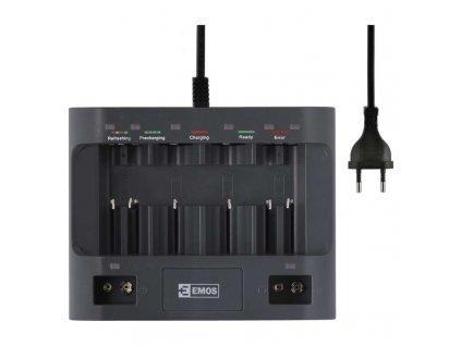 EMOS Nabíječka baterií UNI6 N9168S
