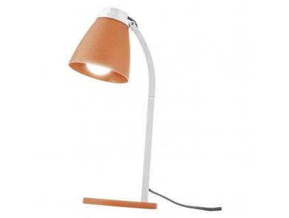 EMOS Lighting Stolní lampa LOLLI s LED žárovkou, oranžová Z7597O