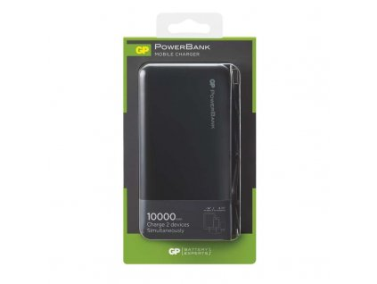 GP Batteries Power bank GP RC10AB 10000mAh černý B0306B