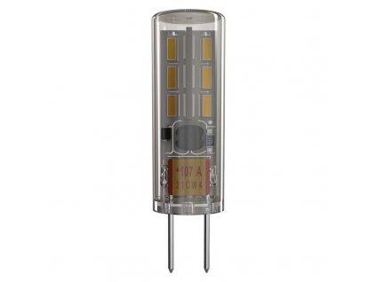 EMOS Lighting LED žárovka Classic JC A++ 1,3W 12V G4 teplá bílá ZQ8610