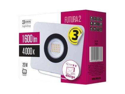 EMOS Lighting LED reflektor FUTURA2, 20W neutrální bílá ZS1821