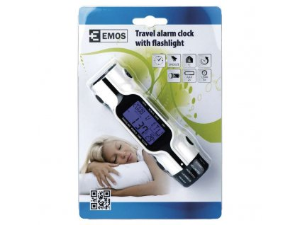 EMOS #Budík digitální se svítilnou DP-810N E0810