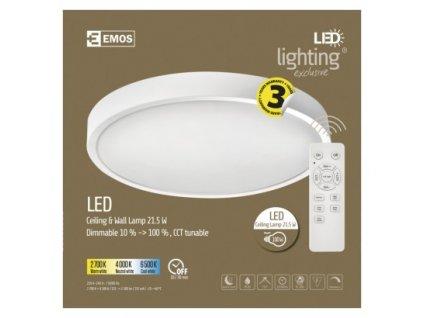 EMOS Lighting LED přisazené svítidlo, kruhové 21,5W, stmív. se změnou CCT ZM5164