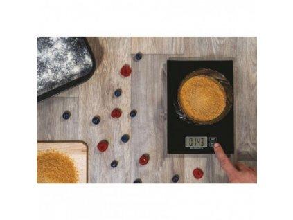 EMOS Digitální kuchyňská váha EV003, černá EV003B