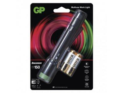 GP Batteries LED pracovní svítilna GP Discovery C33, 180 lm P8504