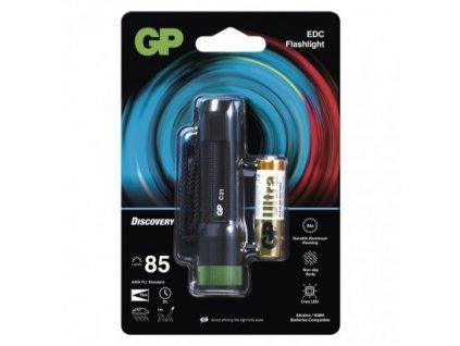LED ruční svítilna GP Discovery C31, 85 lm