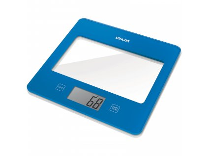 Sencor kuchňská váha modrá SKS 5022BL