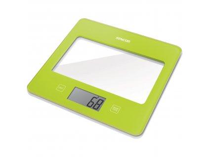 Sencor kuchňská váha zelená SKS 5021GR