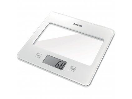 Sencor kuchňská váha bílá SKS 5020WH
