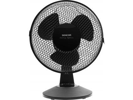 SENCOR stolní ventilátor SFE 2311BK