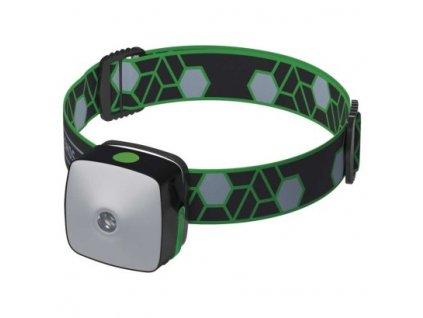 EMOS CREE + SMD LED nab. čelovka P3535, 110 lm,55m,Li-Pol 850 mAh P3535