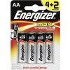 Baterie Energizer MAX+ AA, LR6 4+2