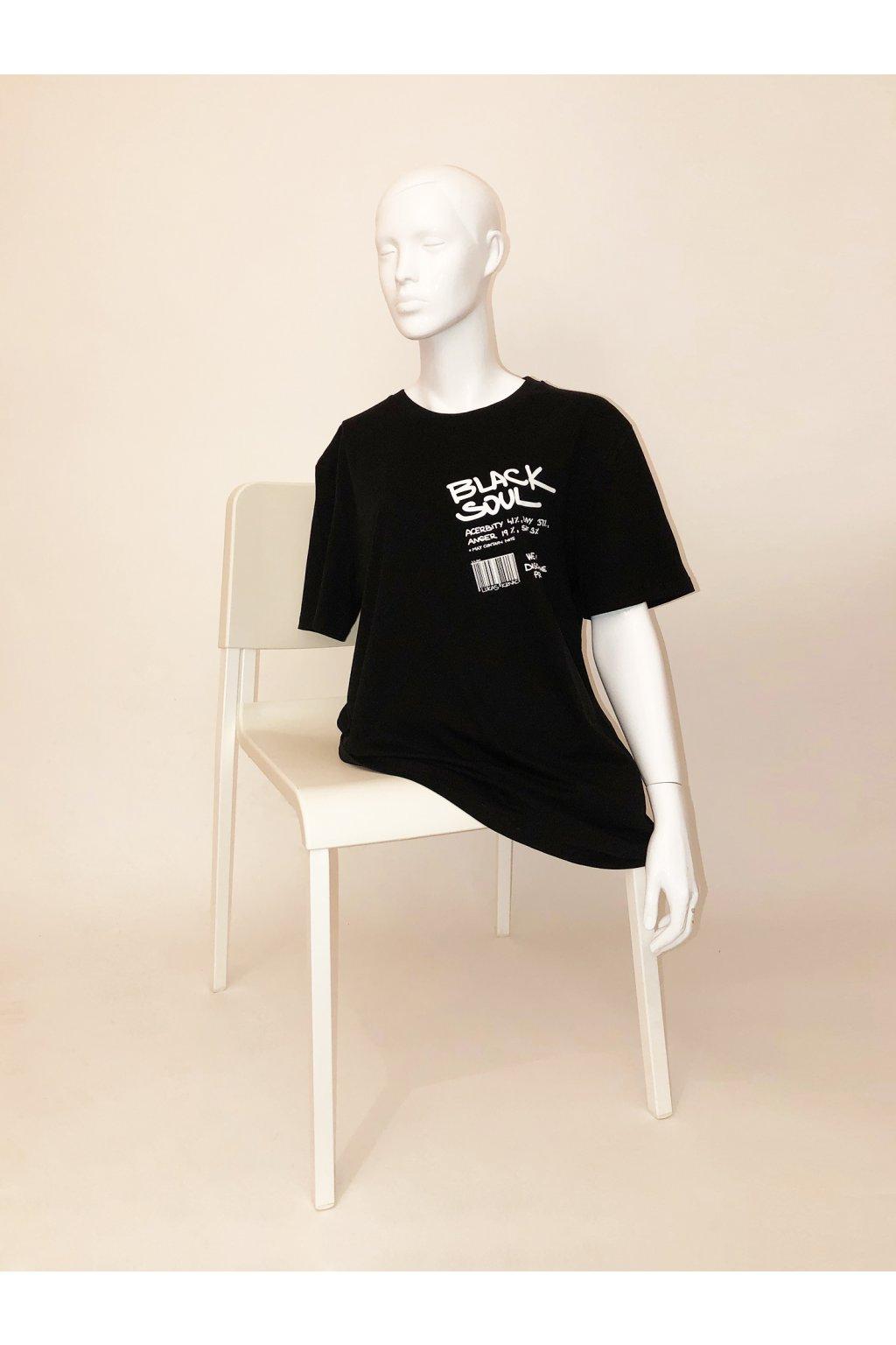 tričko Black Soul