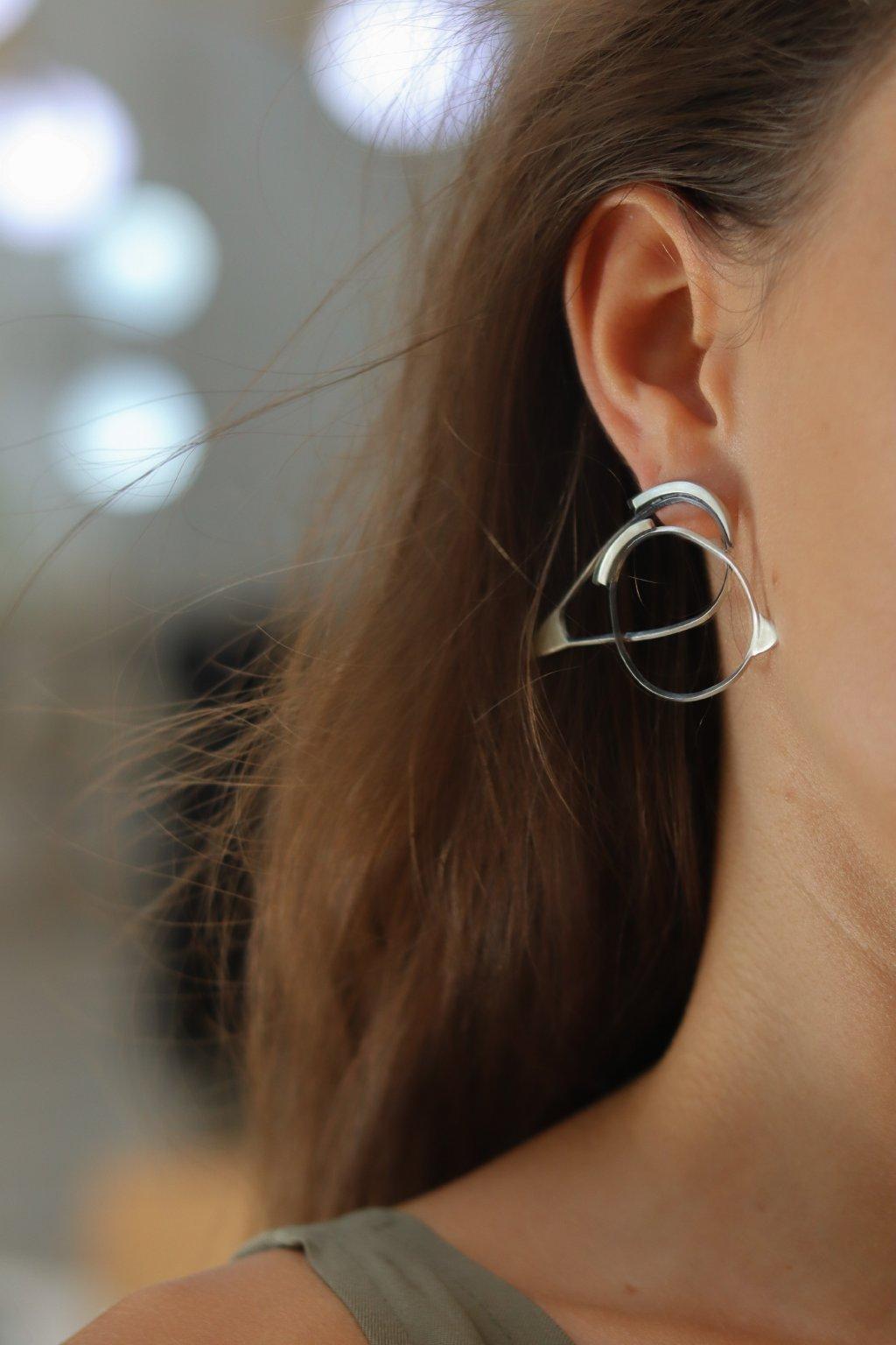 Vika Mayzel Jewelry - Agam Mono Earring