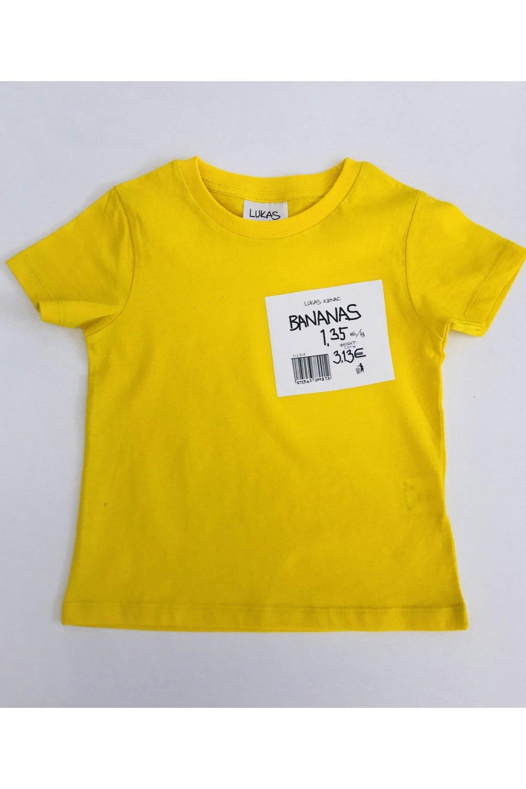 detské tričko BANANAS