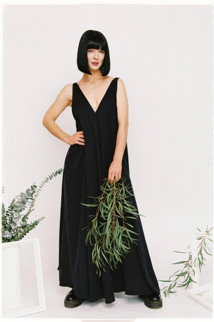 dlhé šaty_tencel_drobne_SS2021