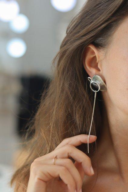 Vika Mayzel Jewelry - Ghita Mono Earring