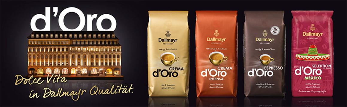 Dallmayr coffee banner