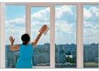 Čistiace prostriedky na okná a sklenené povrchy