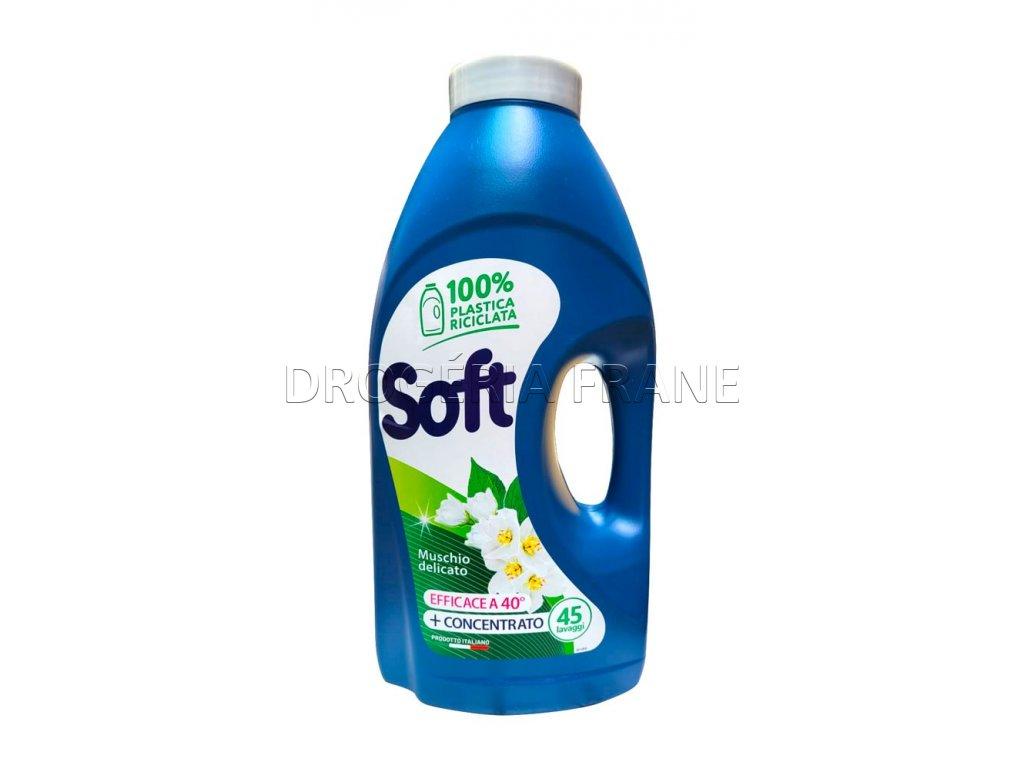gel na pranie soft biele pizmo 2 5 l 45 prani
