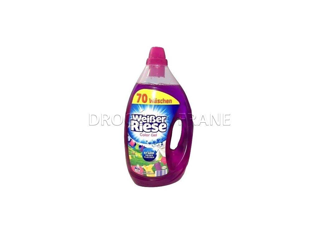 gel na pranie weisser riese na farebne pradlo 3 5 l 70 prani