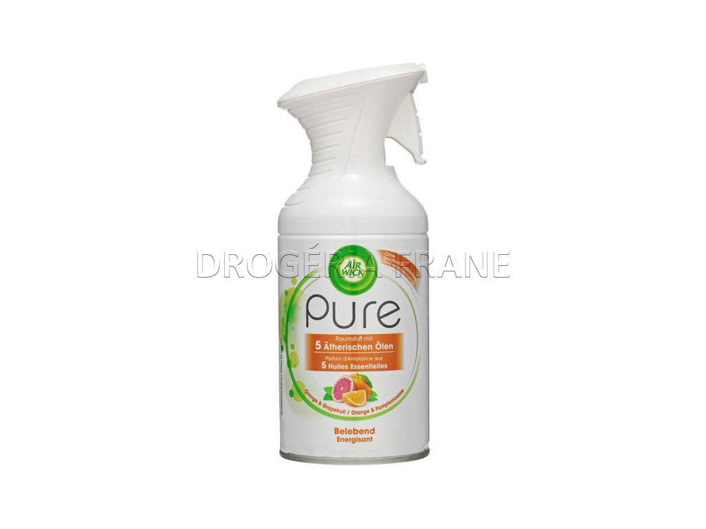 osviezovac vzduchu air wick pure orange a grapefruit s rozprasovacom 250 ml
