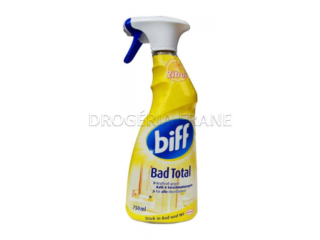 biff bad total citrus na vodny kamen 750 ml