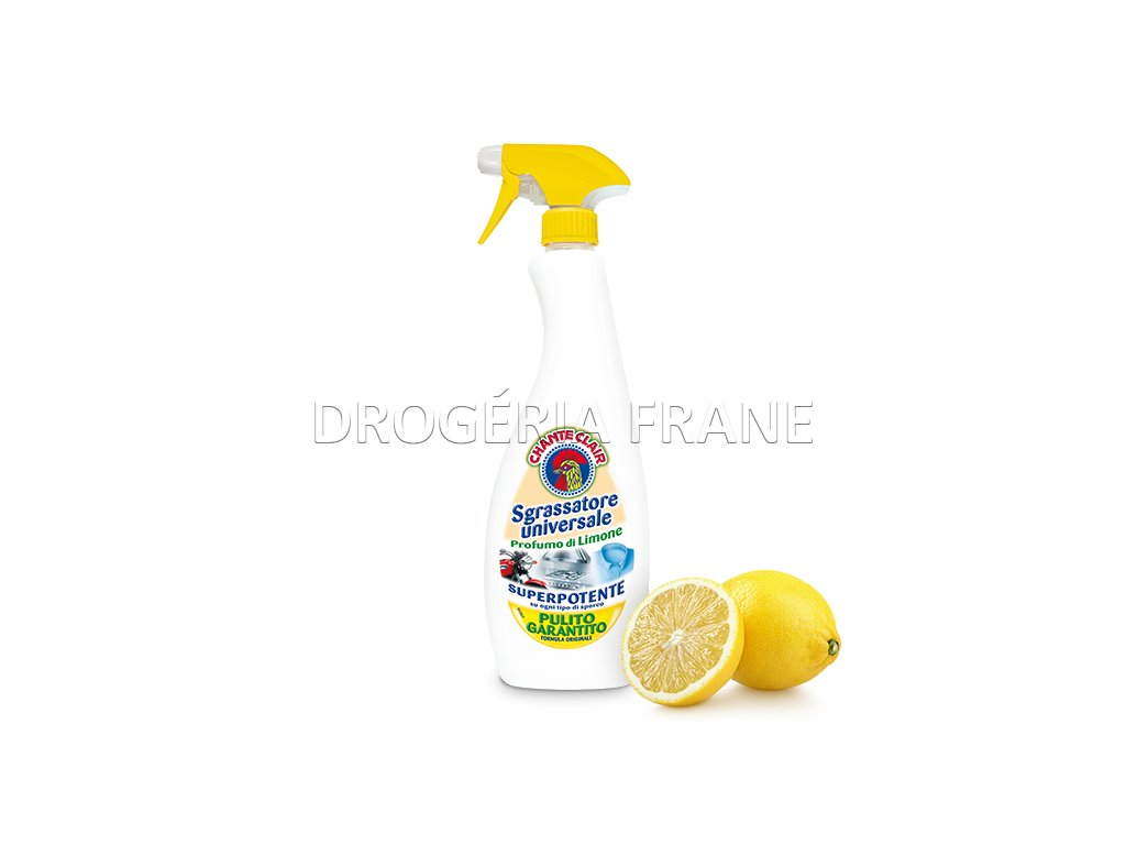 cistiaci prostriedok chanta clair di limone na mastnotu a pripaleniny 625 ml