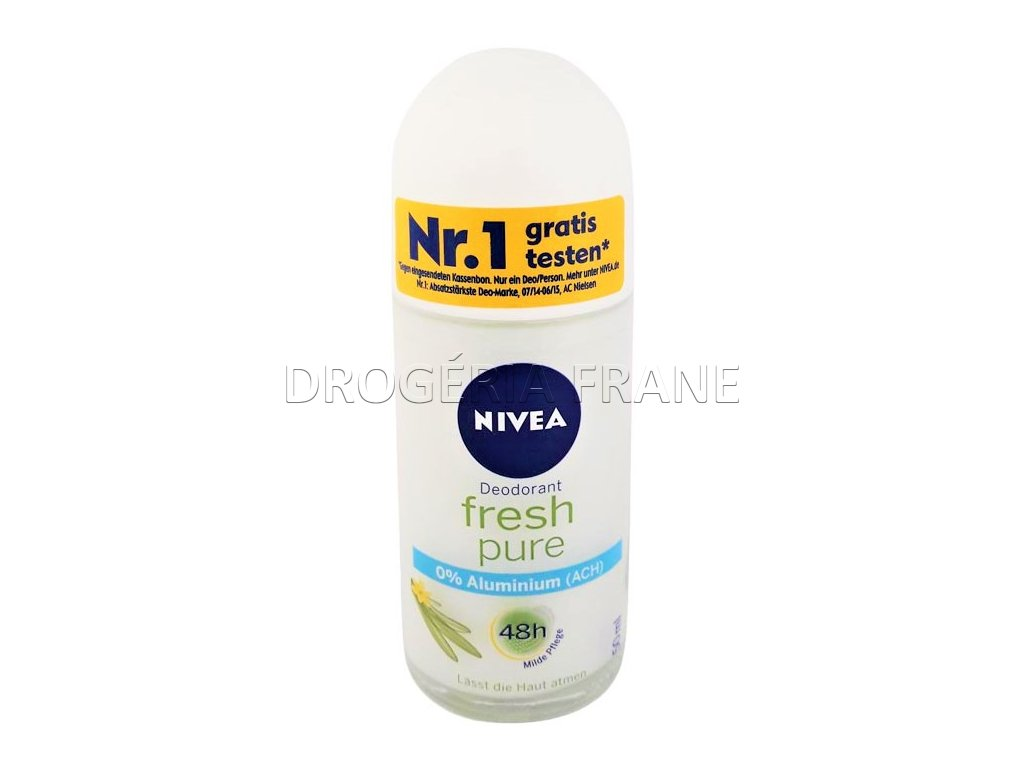damsky gulockovy deodorant nivea fresh pure 50 ml