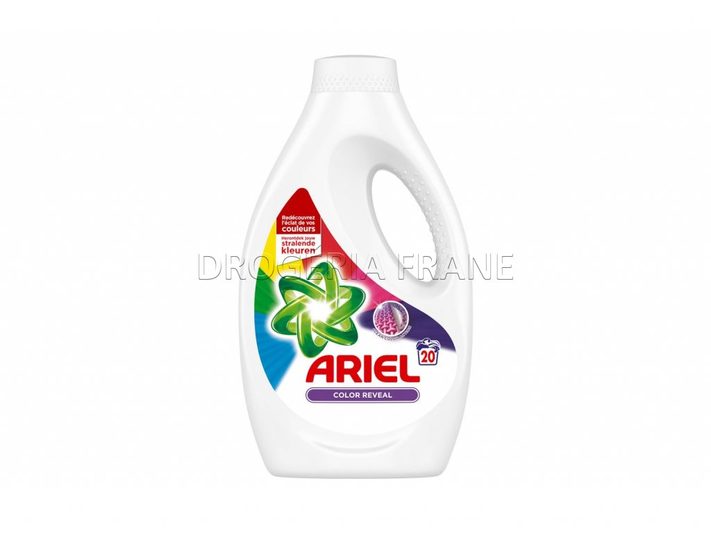 gel na pranie ariel actilift color 1 1 l 20 prani