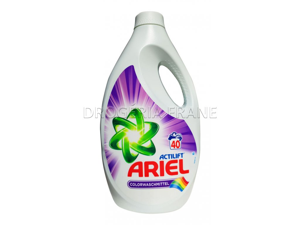 gel na pranie ariel actilift color 2 6 l 40 prani