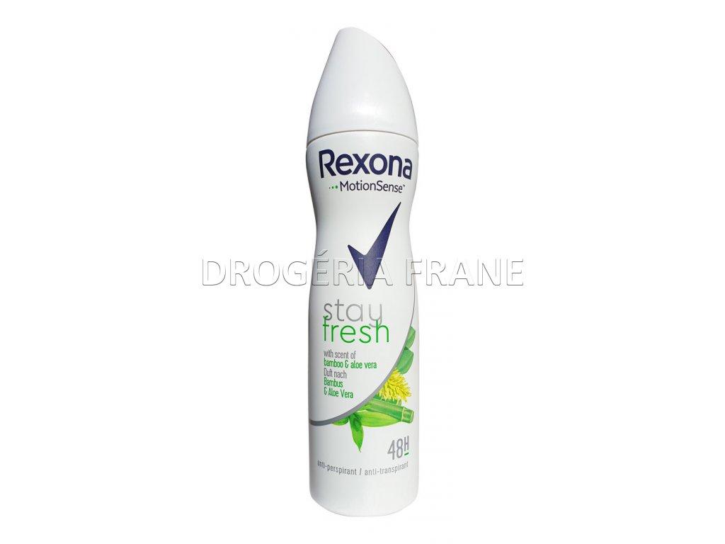 damsky antirespirant rexona stay fresh bambus a aloe vera 150 ml