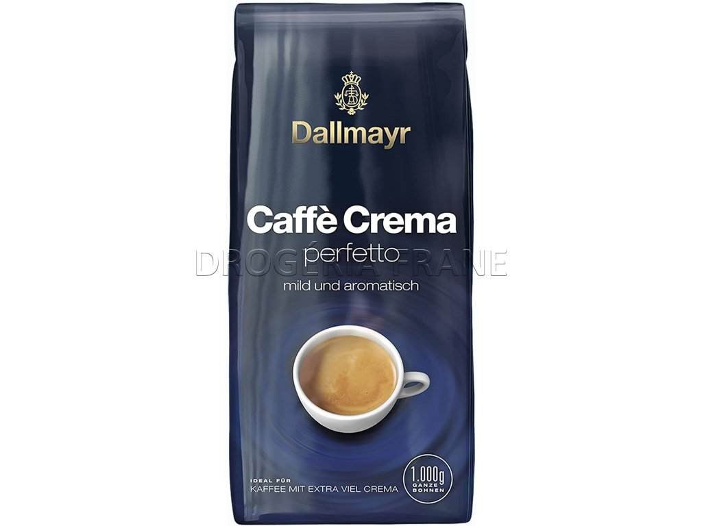 dallmayr caffe crema perfetto zrnkova kava 1 kg