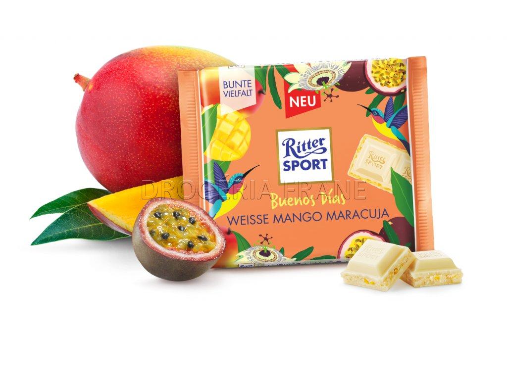 ritter sport buenos dias biele mango a marakuja mliecna cokolada 100 g
