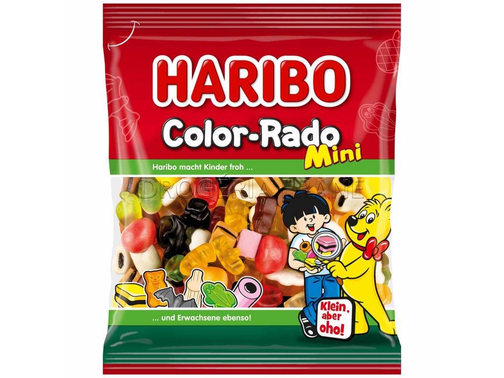 haribo mini color rado ovocne zele cukriky 175 g