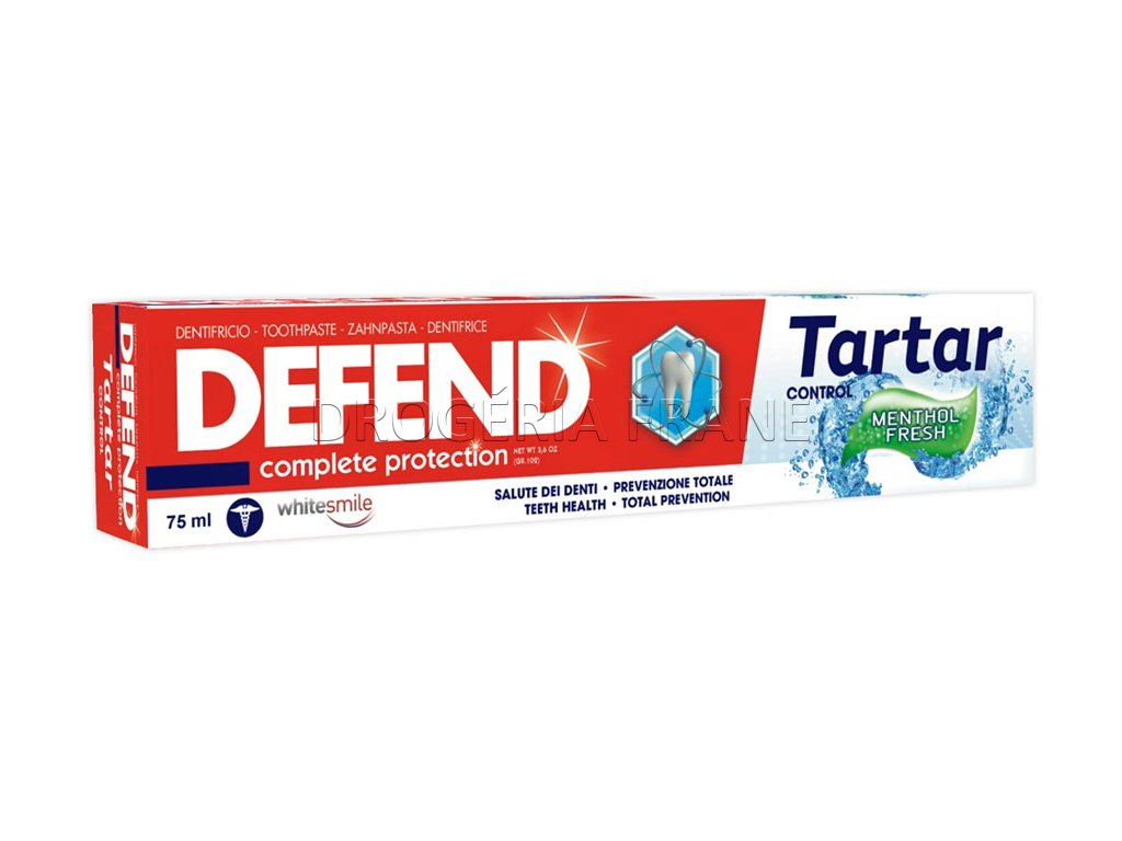zubna pasta defend comlete protection tartar 75 ml