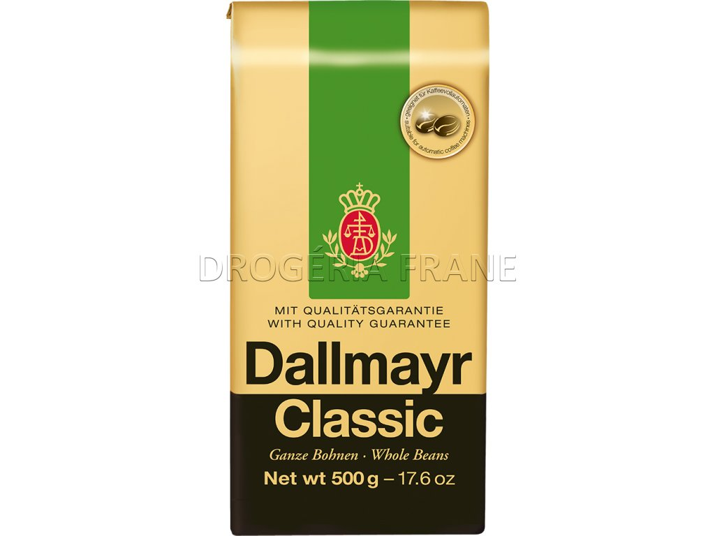 dallmayr classic zrnkova kava 500 g