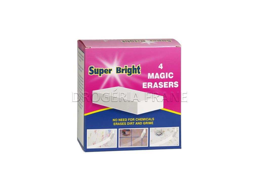 kuzelna spongia super bright magic erasers 4 ks