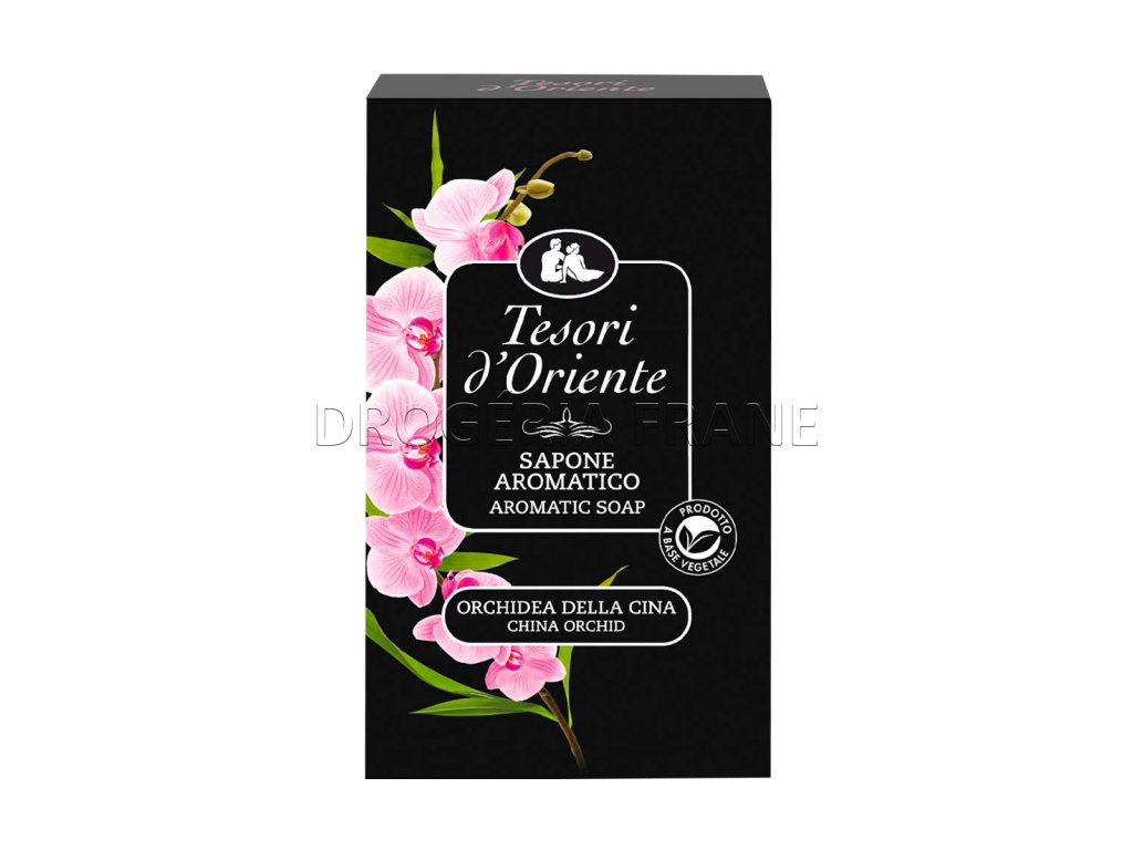 toaletne mydlo tesori cinska orchidea 150 g